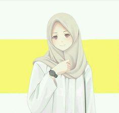 Hijab art Hijab illustration Kapal k z resimleri Anime Art Girl, Anime Girls, Muslim Pictures, Tmblr Girl, Hijab Drawing, Islamic Cartoon, Hijab Cartoon, Islamic Girl, Muslim Girls