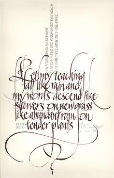 calligraphic art