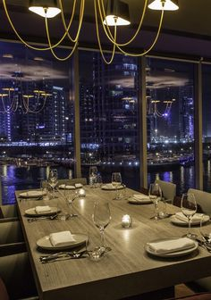 For private dining in Dubai that offers stunning views and equally beautiful cuisine, we love Marina Social, the Jason Atherton restaurant
