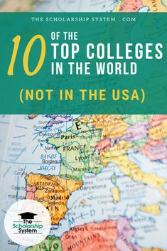 There are tons of amazing colleges dotting the planet. Here's a look at some of the top colleges in the world that aren't in the US.