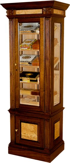 Definately a Man Cave must have. Wine & Cigar Humidor | Stuff for ...