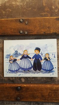 Excited to share the latest addition to my #etsy shop: Holland Postcards/ Dutch Children/Windmills/Tulips/2 Cards http://etsy.me/2nQUAu6