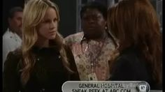 general hospital lucky confronts liz - YouTube