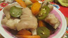 Como hacer manitas de cerdo en escabeche / Patitas de puerco en vinagre