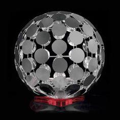 Lampa stołowa SFERA z podstawą ze szkła akrylowego 6000049X