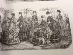 Women's Fashion 1850-1860