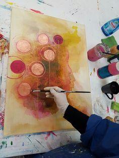 Malen lernen im Kurs-  Acrylmalerei für Anfänger und Fortgeschrittene, Atelier - Malschule in Osnabrück
