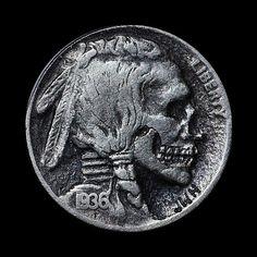 Skull Nickels: http://skullappreciationsociety.com/skull-nickels/ via @Skull_Society