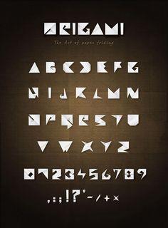 ORIGAMI ::: Alfabeti creativi