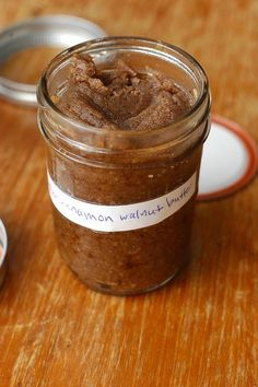 homemade honey-roasted cinnamon walnut butter • gluten-free girl and the chef