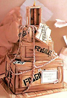 Crate Cake- Amazing - Colette's Cakes | online store