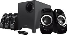Creative Inspire Speaker System - 50 W RMS, Creative Labs Subwoofer Speaker, Wireless Speakers, Speaker System, Audio System, Best Surround Sound System, Satellite Speakers, Multimedia Speakers, Surround Speakers