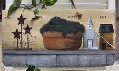 Melody Mead has some beautiful slate art paintings at Main Street Artisan's Co-op in Sheffield for $8.00 - $60.00. She also has pottery available for $8.00 - $40.00 and bass wood animal paintings for $25.00 - $50.00. Stop in shop today from 11:00 AM - 5.00 PM and see what Melody has to offer.  Also, don't forget to buy some of Nancy Edmiston's baked goods for a snack tonight. She has cake, pies and chocolate chip cookie bars waiting for you!