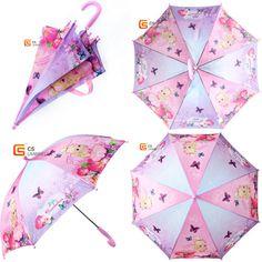 Pink Mia and Me Umbrella Automatic Opening Umbrella Free UK P+P Ages 3-8