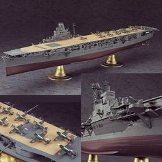 IJN Aircraft Carrier Junyo 1/350 Hasegawa. Unknown modeler #scalemodel #plastimodelismo #plastickits #plasticmodel #plastimodelo #miniatur #miniature #maqueta #maquette #modelismo #usinadoskits #udk