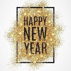 Bonne année 2018 à tous ❤️ Happy new year ! Happy New Year 2018, New Year 2017, New Year Wishes, Happy 2017, Happy New Year Wallpaper, Holiday Wallpaper, Wallpaper Winter, Blush Wallpaper, Fashion Bubbles