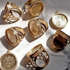 Talented maker and collector, Anna Anipen-Lomax is taking over the AnOther Insta… - Rings Jewelry Jewelry Accessories, Fashion Accessories, Jewelry Design, Fashion Jewelry, Ring Verlobung, Signet Ring, Bling Bling, Coin Jewelry, Jewellery Uk