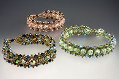Jill Wiseman Designs - Parisian Lights Bracelet Kit, $35.00 (http://shop.jillwisemandesigns.com/parisian-lights-bracelet-kit/)