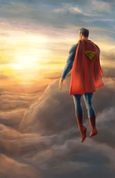 Superman- The coolest picture of the Man of Steel I've seen yet. Batman Vs Superman, Superman Artwork, Superman Family, Superman Man Of Steel, Superman Stuff, Hq Marvel, Marvel Dc Comics, Clark Kent, Comic Book Characters