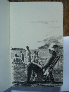 Moleskine #k25 graphite pencil drawing