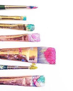 Gorgeous paint brushes!