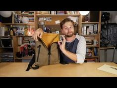 Staad Laptop Backpack Review (Waterfield Designs) - YouTube
