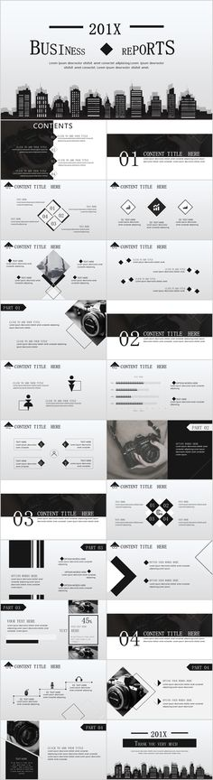 gray business report PowerPoint template #powerpoint #templates #presentation #animation #backgrounds #pptwork.com #annual #report #business #company #design #creative #slide #infographic #chart #themes #ppt #pptx #slideshow #office #microsoft #envato #graphicriver #creativemarket