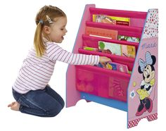 Disney Minnie Mouse Kids' Bookcase by HelloHome for sale online Kids Bookcase, Little Girl Rooms, Little Girls, Minnie Mouse Nursery, Disney Rooms, Princess Room, My New Room, Girls Bedroom, Girl Rooms