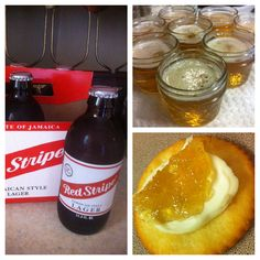 I made beer jelly