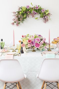 Spring bridal shower ideas with Freixenet | Photo by Scott Clark Photo | Read more - http://www.100layercake.com/blog/?p=70630