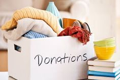 While organizing your space and decluttering your mind, always think about those less fortunate and never throw away your old stuff. Donate, Donate, Donate! Your junk might be someone else's treasure. Love thy neighbor<3