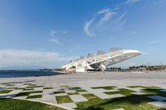 Museu do Amanhã, RJ. Projeto: Santiago Calatrava