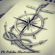 Picture result for Sailor Compass Anchor Tattoos .- Bildergebnis für Sailor Compass Anker Tattoos … – biggi – Picture result for Sailor Compass Anchor Tattoos … – biggi – - Marine Tattoos, Navy Tattoos, Arrow Tattoos, Trendy Tattoos, Tattoos For Guys, Sailor Tattoos, Navy Anchor Tattoos, Tatoos, Ship Tattoos
