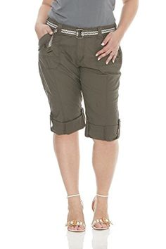 Special Offer: $34.99 amazon.com Suko Women Cargo Plus Size Pants Adjustable Capri length Stretch Poplin and Belted. Suko Jeans Womens Cargo Capri Pants Adjustable length Stretch Poplin and Belted. The Suko poplin capris are made from the perfect cotton twill poplin with just the right...