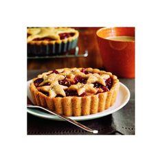 Apple-Cranberry Mince Tartlets < Thanksgiving dessert recipes -... ❤ liked on Polyvore