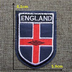 FairyTeller 1Pcs Sell High Quality Football Mark Patch Hot Melt Adhesive Applique Embroidery Patch Diy Decoration Accessory C212-C395 *** Read more at the image link.
