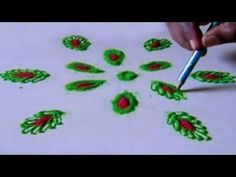 Making Rangoli Design Beautiful Art Step By Step Tutorial