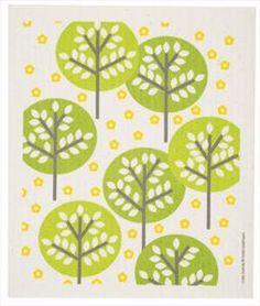Swedish Dishcloth - Forest