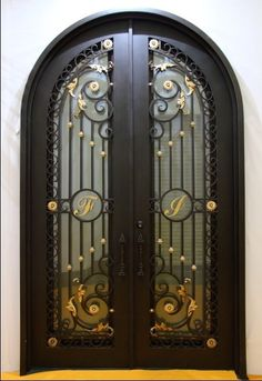 Decoration Radius Top Wrought Iron Door Fd 003 Photo  Detailed about  Decoration Radius TopWrought iron entry door   What about something like this    House  . Architectural Doors And Hardware Casper Wy. Home Design Ideas