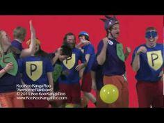 """""""Awesome Rainbows"""" - Koo Koo Kanga Roo (Official Video)"""