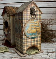 Персональные подарки ручной работы. Ярмарка Мастеров - ручная работа. Купить чайный домик МОРСКОЕ ПРИКЛЮЧЕНИЕ. Handmade. Голубой