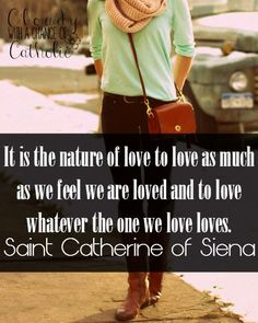 St. Catherine of Siena quote