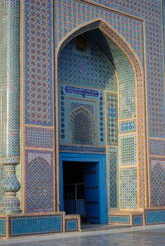 Shrine of Hazrat Ali, or Blue Mosque, Martin Gray.