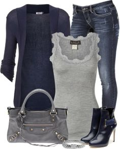 More great outfit ideas! More great outfit ideas! More great outfit ideas! More great outfit ideas! Winter Outfits Women, Fall Outfits, Casual Outfits, Ladies Outfits, Woman Outfits, Casual Wear, Look Fashion, Womens Fashion, Fashion Trends