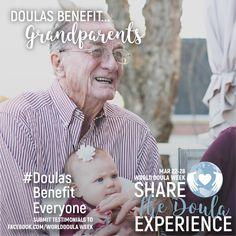 #doulasbenefiteveryone #worlddoulaweek #WDW #grandparents #papa #Grandbabies Doula, Grandparents, Baseball Cards, Movie Posters, Grandmothers, Grandparent, Film Posters, Billboard
