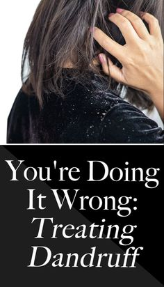 Find out which surprising product may be causing your dandruff on SHEFinds.com. How To Treat Dandruff, Oily Scalp, Dry Shampoo, All Things Beauty, Skin Makeup, Hair Goals, Makeup Tips, Makeup Looks, Beauty Hacks
