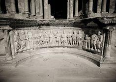 Roman theatre in Sabratha - Libya