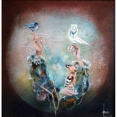 Bernard LOUEDIN. Les 3 Mains aux oiseaux