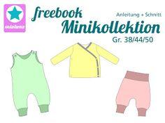 mialuna Minikollektion für Frühchen Größe 38-50