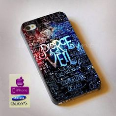 pierce the veil quotes iphone case case samsung by Imporiument, $13.00